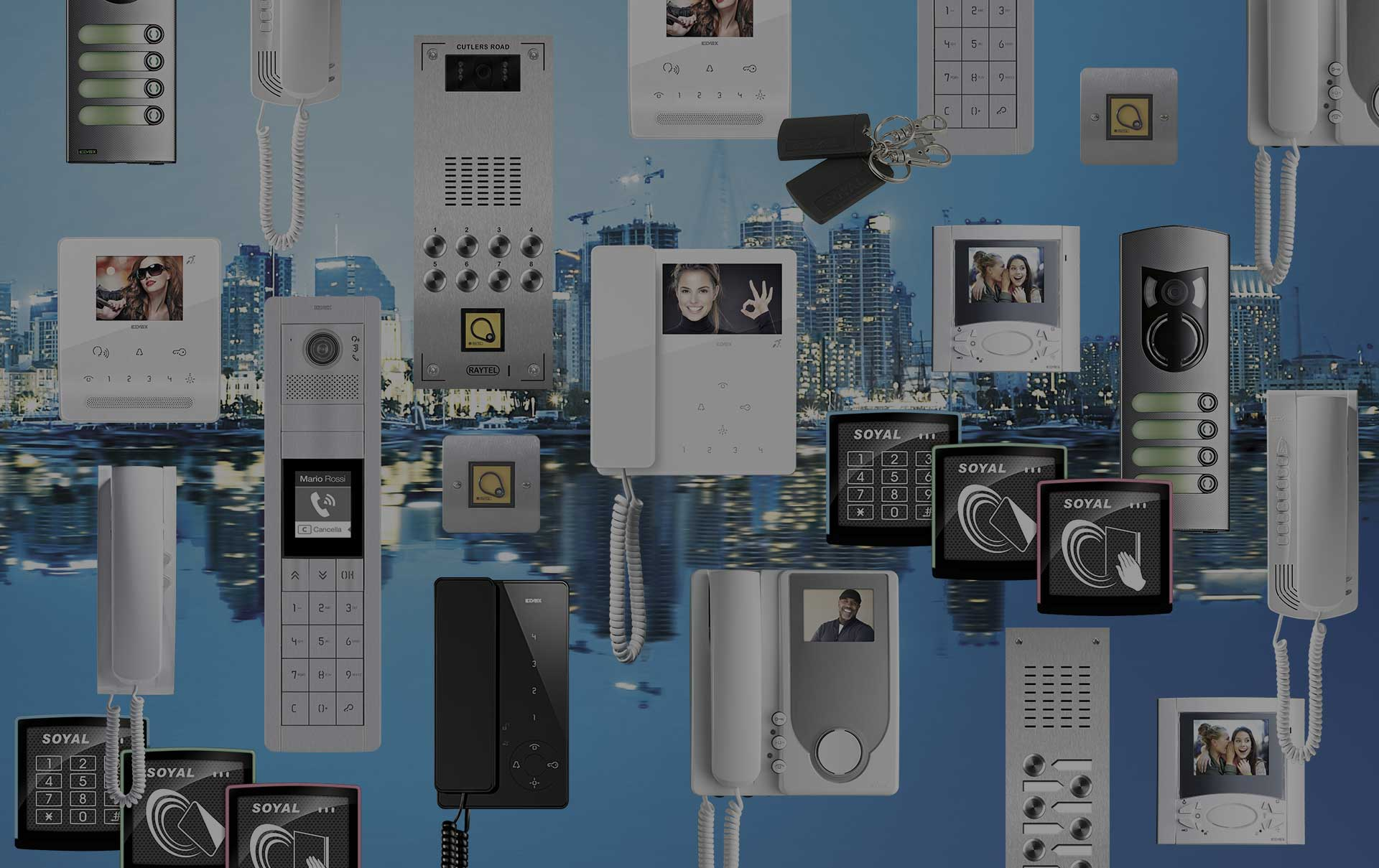 Raytel Security Systems Products